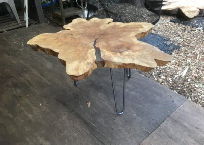 Root Zone and Wood Circle Tables