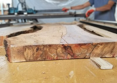 Milling, Drying, and Planing Blackjack Oak